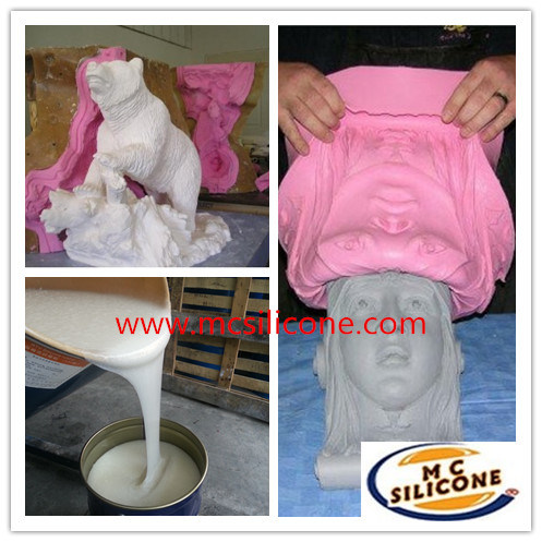 RTV-2 Silicone Material for Grc Decor Moulding