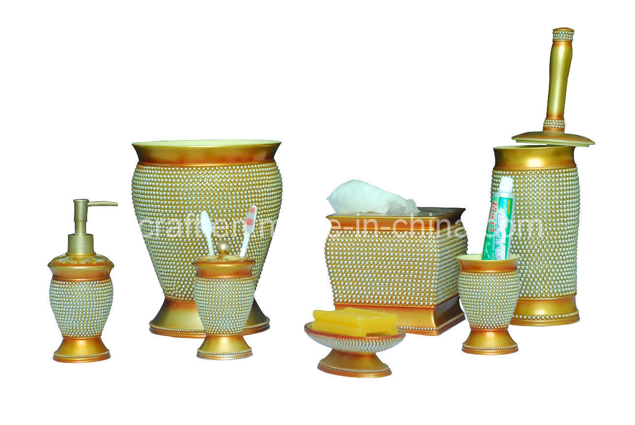 bathroom accessories set on Bath Accessory Set   China Poly Bathroom Set Bathroom Accessory Set