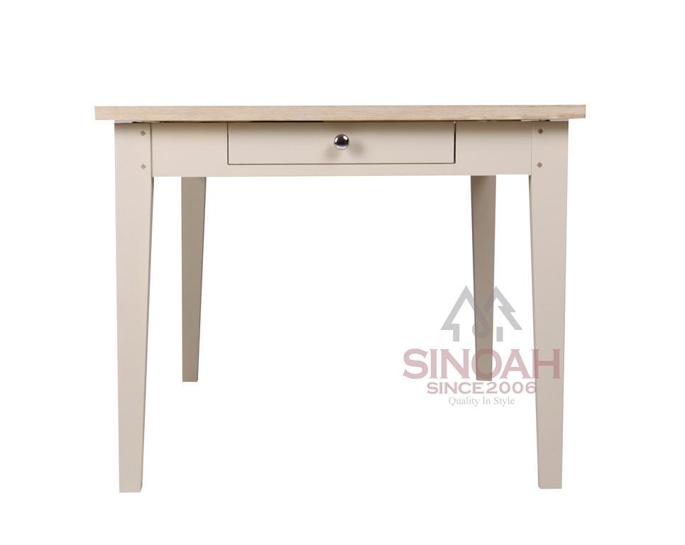 Cream White Wooden Furniture Dining Furniture Dining Table (FCRange)