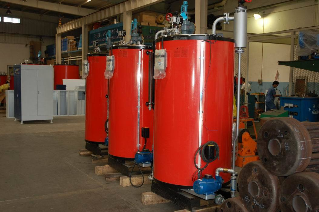 Vertical Water Tube Gas Steam Boiler (200KG/440LB 7BAR/102PSI)