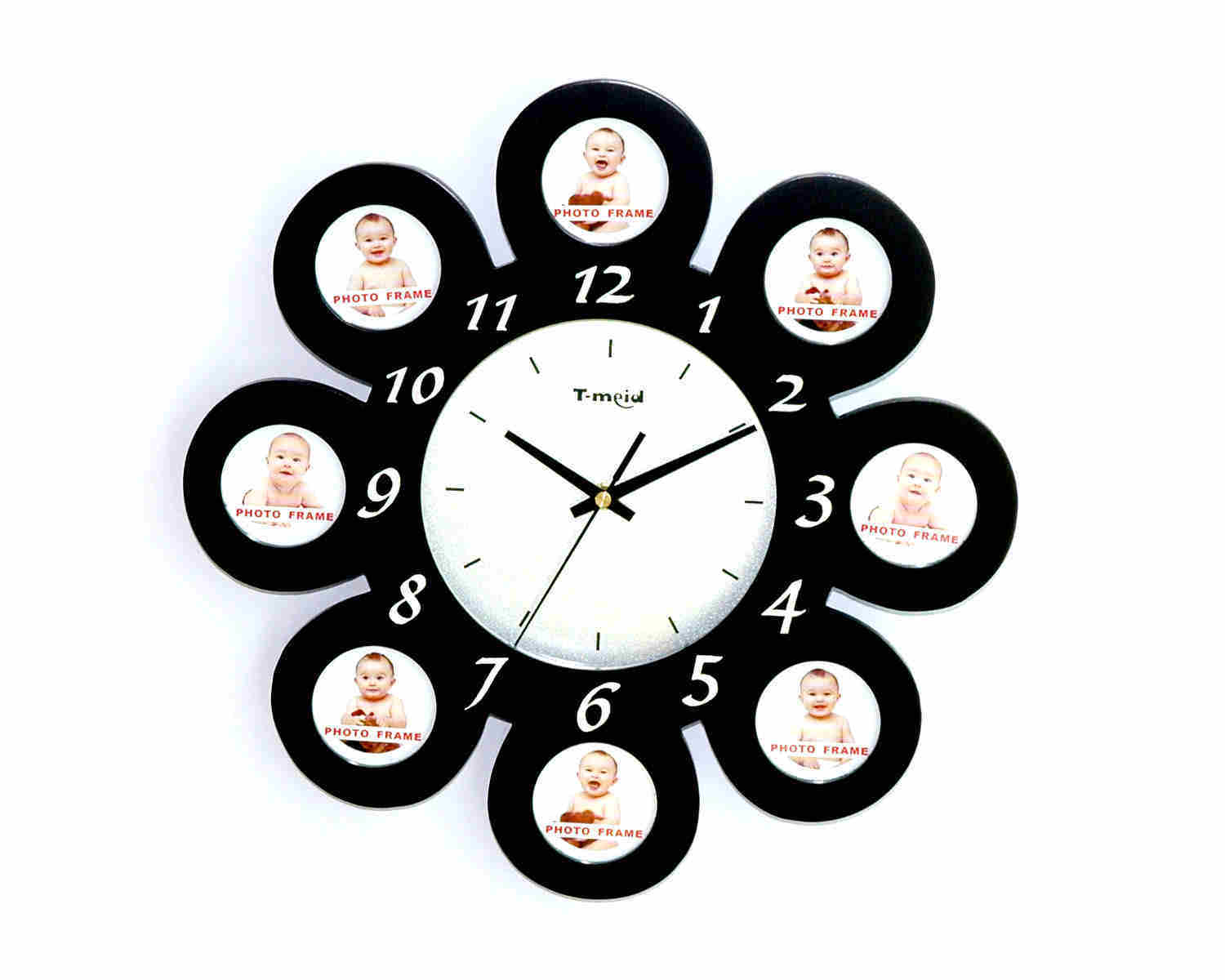 china photo frame wall clock m7021b china clock wall