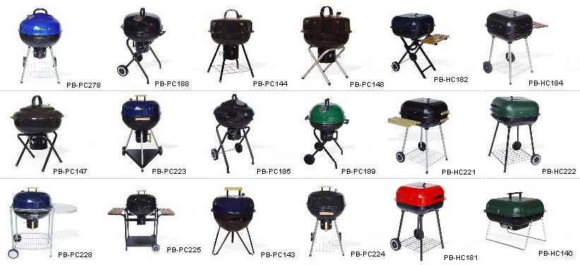 Charcoal Barbecue Grill Ideas - Texas Barbeque and Texas Style