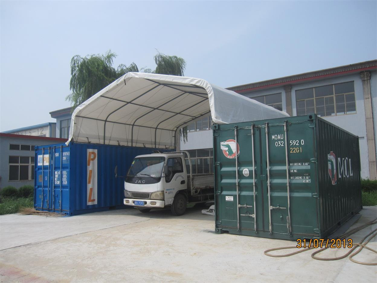 China outdoor storage 20ft 40ft container shelter or for Outdoor storage shelter