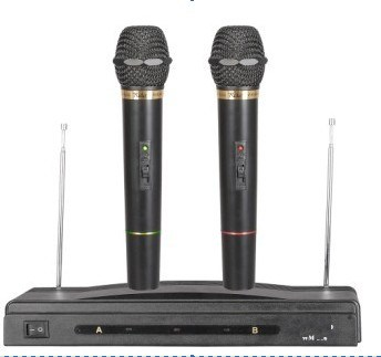 Wire & Wireless Microphone (EGM306W) Good Quality