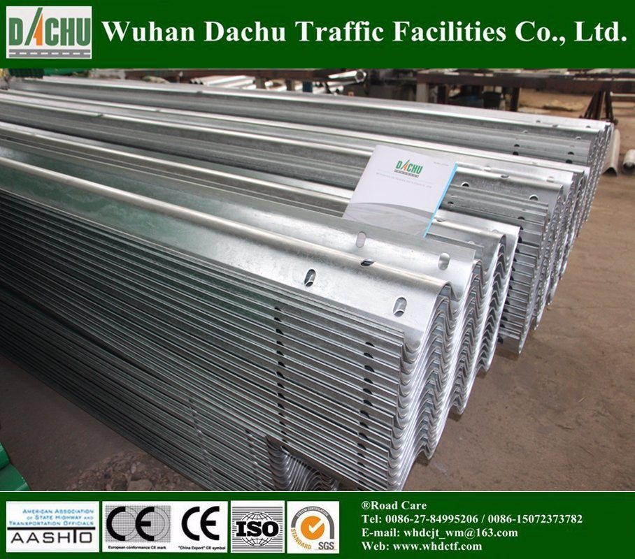 Safety Galvanized Steel Armco Crash Barrier