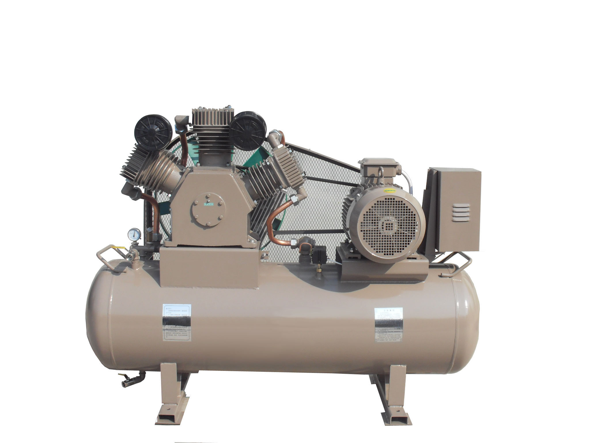 Totally Oil-Free Air Gas Compressor