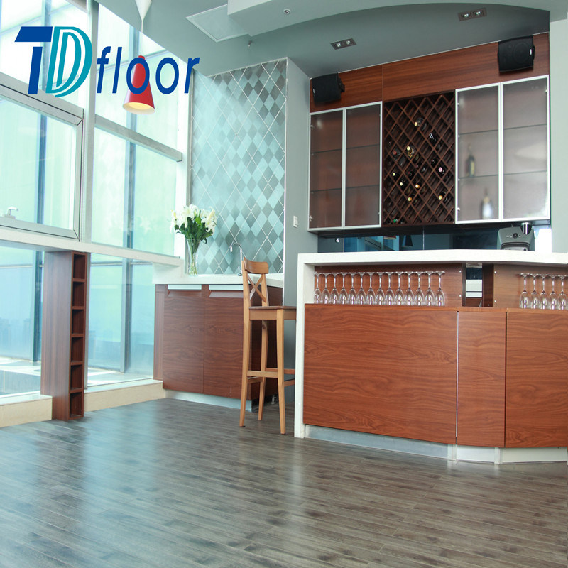 2.0mm Waterproof Residential Luxury Vinyl Flooring Lvt Dryback with Wood Design