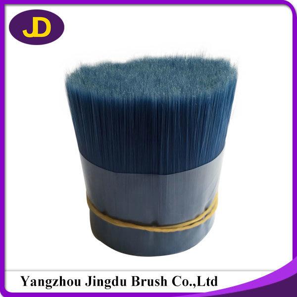 0.18mm Diameter Shiny Blue Pet Brush Synthetic Fiber