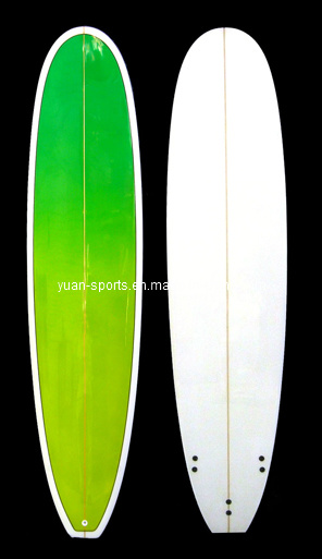 Australia Imported PU Blank Popular Long Surfboard Epoxy