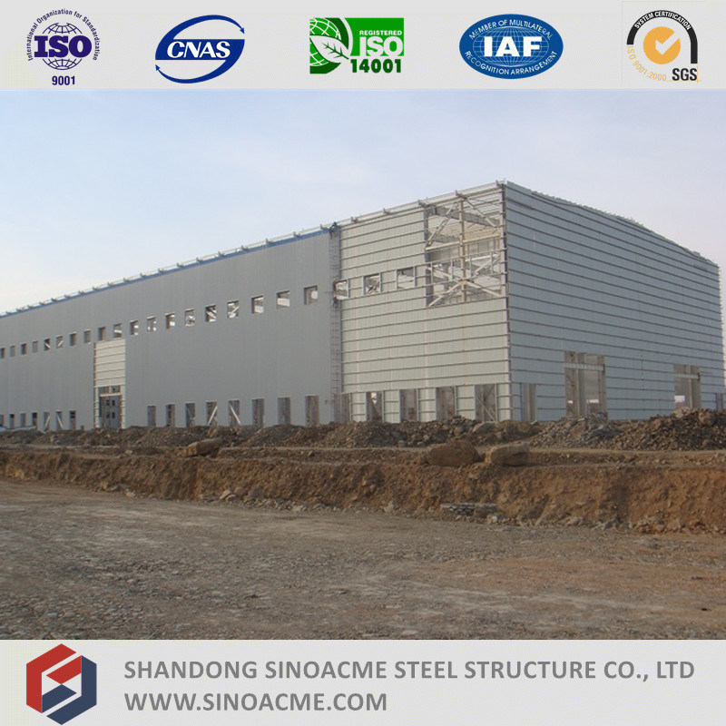 High Rise Heavy Steel Strucutre Industrial Building