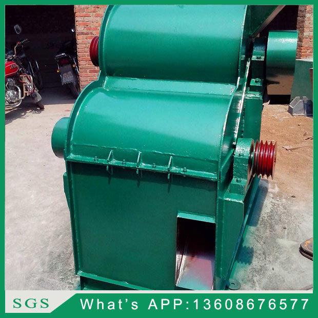 Double-Shaft Crusher / Semi Wet Materials Double Pole Crusher Sjfs-80