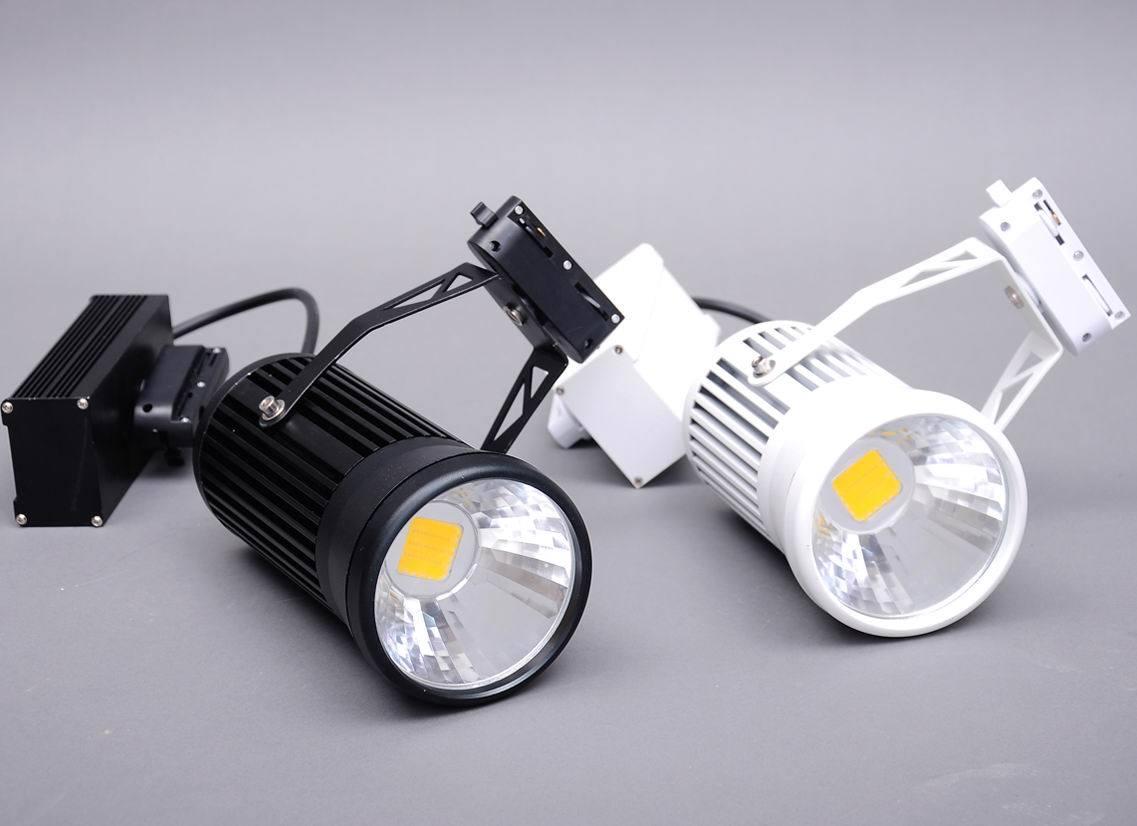 led track light dh gd cob 30b2 china led track light cob led track. Black Bedroom Furniture Sets. Home Design Ideas