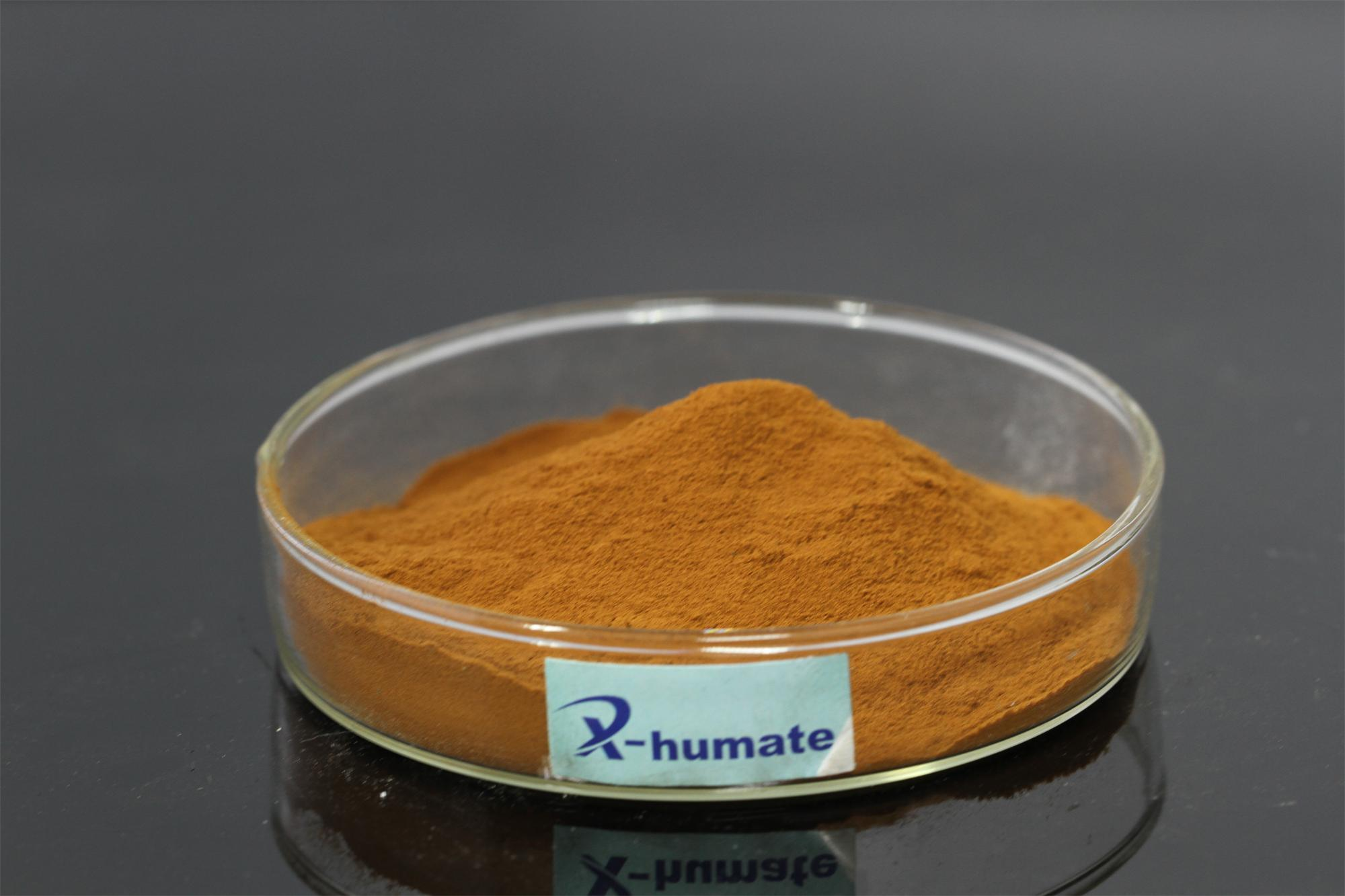 100% Water Soluble Fulvic Acid 80%Min Powder Organic Fertilizer