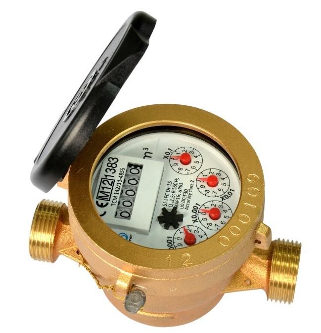 Single Jet Liquid Filled Water Meter Class C/R160