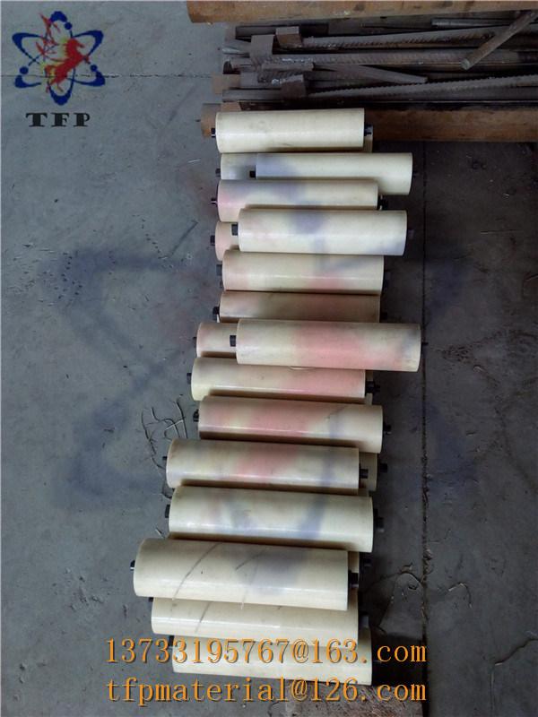 Natural Color High Wear Resistance Plastic Roller
