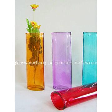 Promotionalcolor Sprayed Glass Vases (V-023)