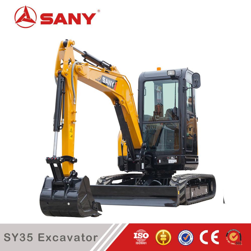 Sany Sy35 Brand New Hydraulic Mini Crawler Excavator