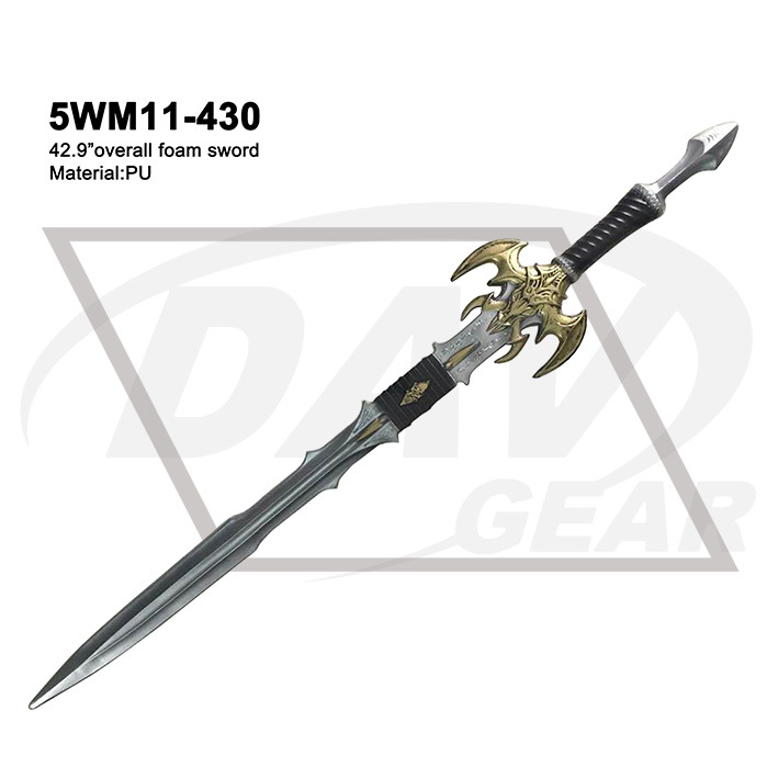 "42.9"" Overall Foam Sword From World of Warcraft: 5wm11-430"