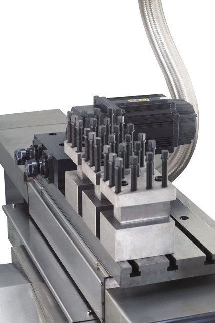 Linear Guide Way- CNC Lathing & Milling Machine (Motor Spindle Direct Drive CS350-G)