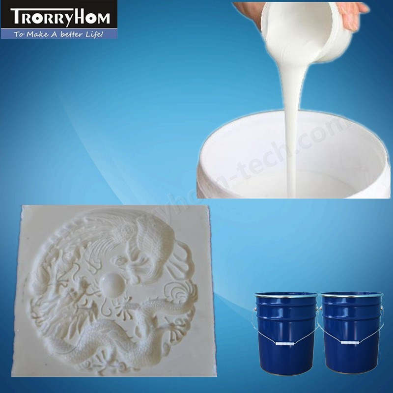 RTV Silicone Rubber Liquid Raw Material for Interior Plaster Decoration