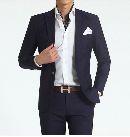 China New Style Men 39 S 2 Piece Dress Balck Suits Photos Pictures Made In