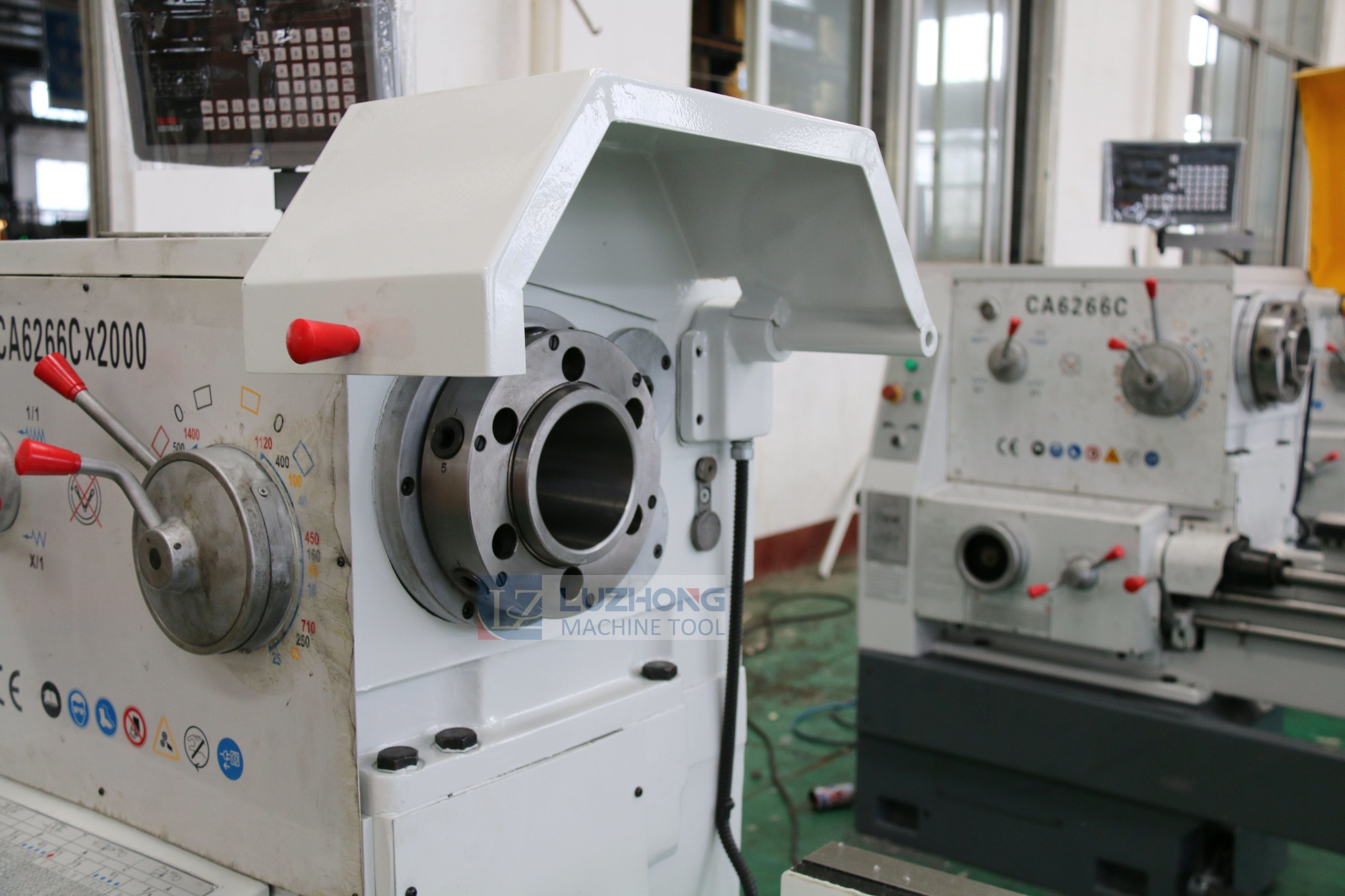 Horizontal Precision Gap Bed Metal Lathe (CA6240 CA6250 CA6266 CA6280)