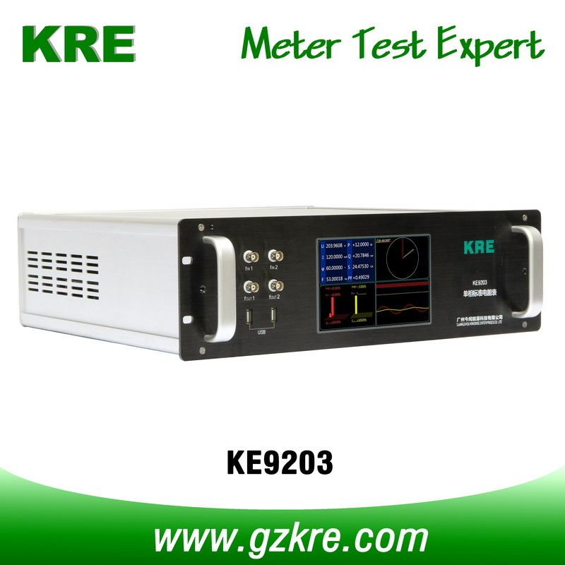 Class 0.02 120A 480V Single Phase Reference Standard Meter with Pulse Input