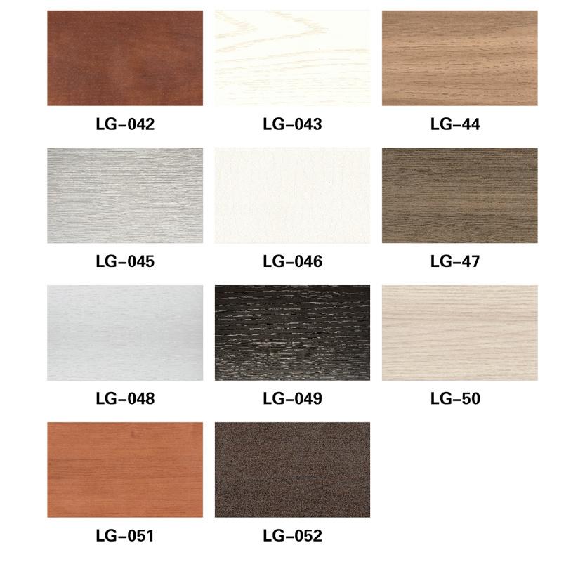 Bedroom Furniture New Material WPC Wardrobe Sliding Door Panel (PB-131)