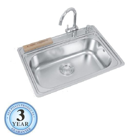 Huge Kitchen Sink : Large Bowl Kitchen Sink (PS-358) - China Steel Sink, Single Bowl Sink