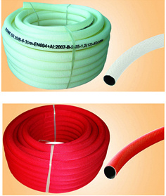 Zyfire En694 Red Semi-Rigid Hose