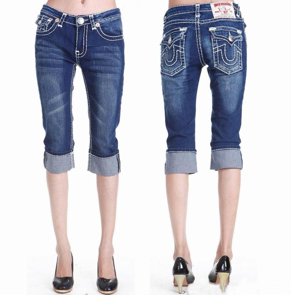 Jeans For Short Women - Girls Denim Jeans Short Pants Mf Ws