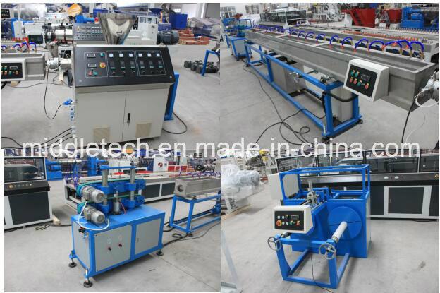 Pipe Extrusion Line Soft PVC/SPVC Pipe Production Line