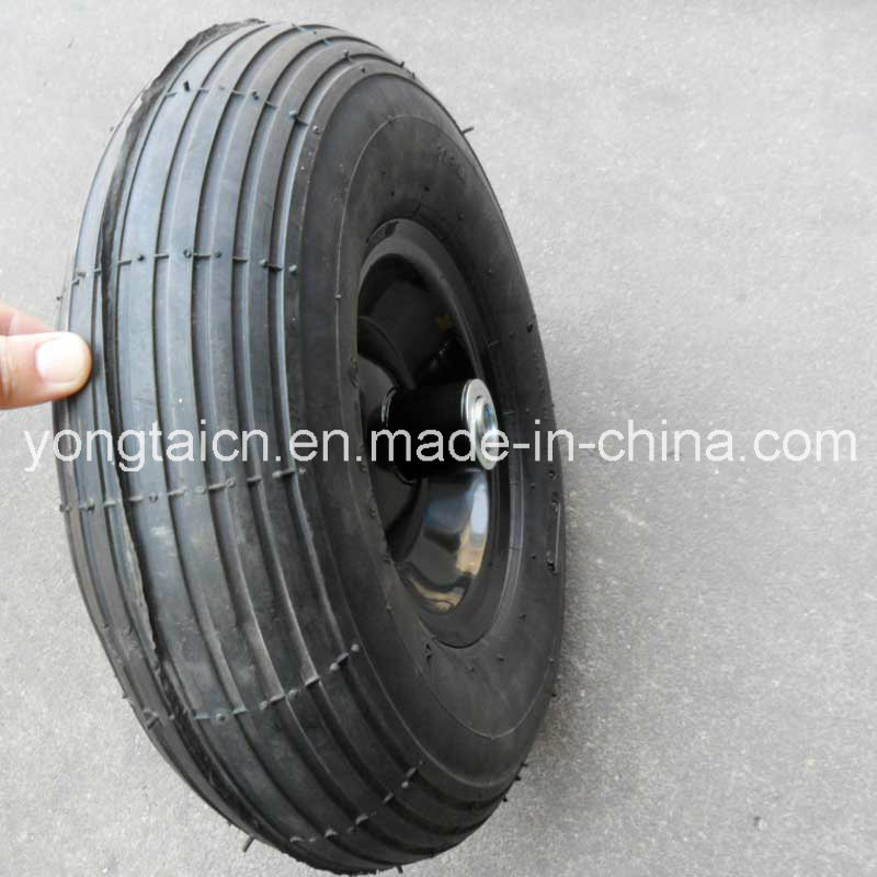 13inch 4.00-6 Metal Rim Air Pneumatic Wheel for Wheel Barrow