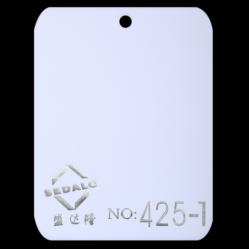Opal White Virgin Cast Acrylic Sheet (SDL425-1)