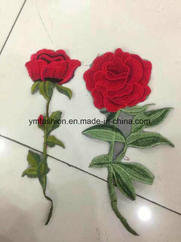 Hot Sell Fashion Garment Accessories embroidery Flower
