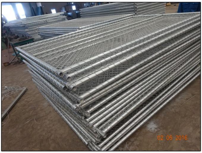 Temporary Construction Fence for Sale Customized You Own Chain Link Temporary Fence From China Factory