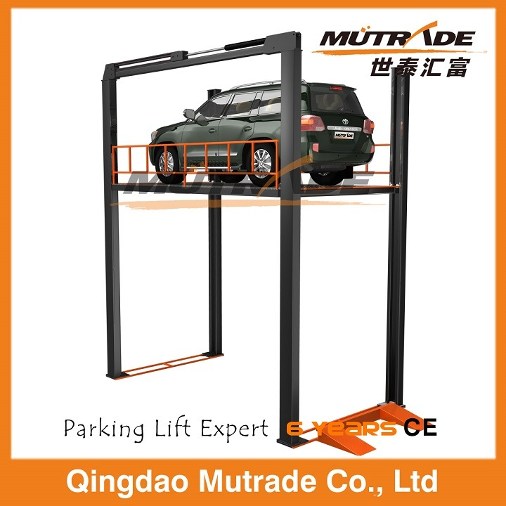 Four Post Hydraulic Floor Car Lift Table