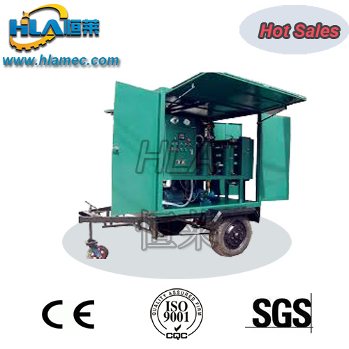 Mobile Type Transformer Oil Regeneration Equipment