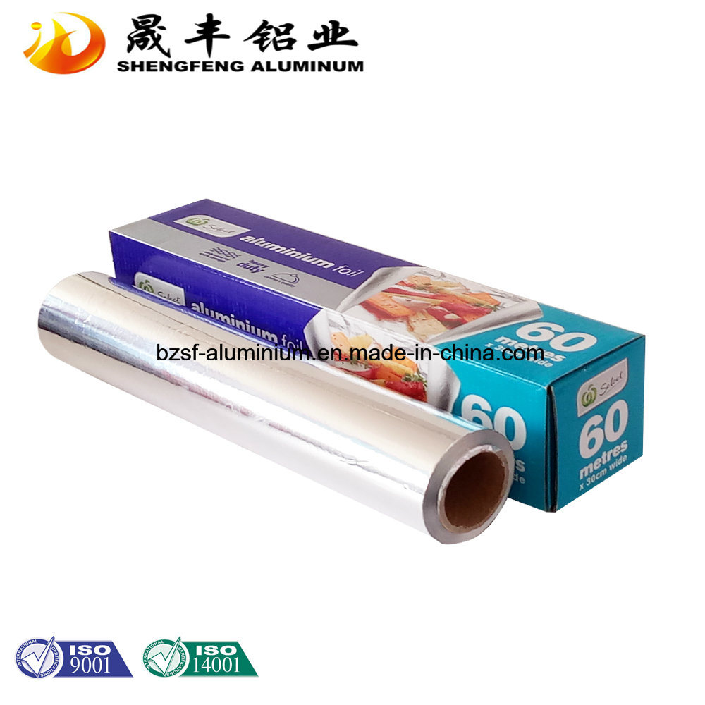 Single Side Disposable High Quality Aluminum Foil Paper