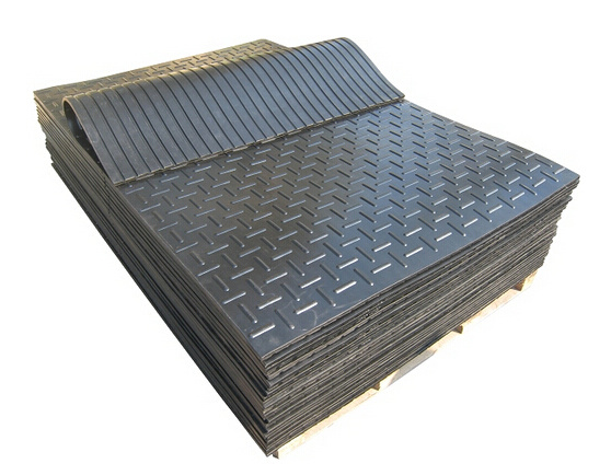 Heavy Duty Anti Fatigue Wear Resistant Rubber Stable Flooring