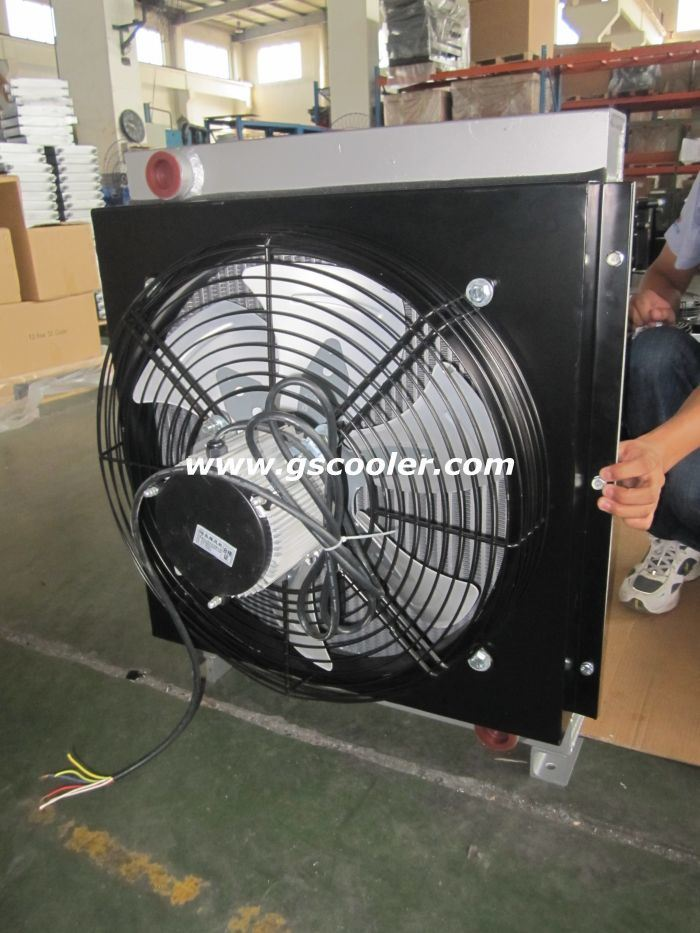 Mobile Oil Cooler with AC Fan