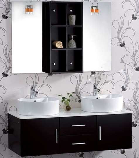 China 2012 Black Lowes Bathroom Sinks Vanities GBW6001 Photos
