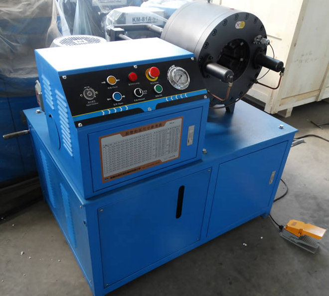 """Hydraulic Pipe Crimping Machine Km-91d for 4"""" Hose/Pipe/Tube"""