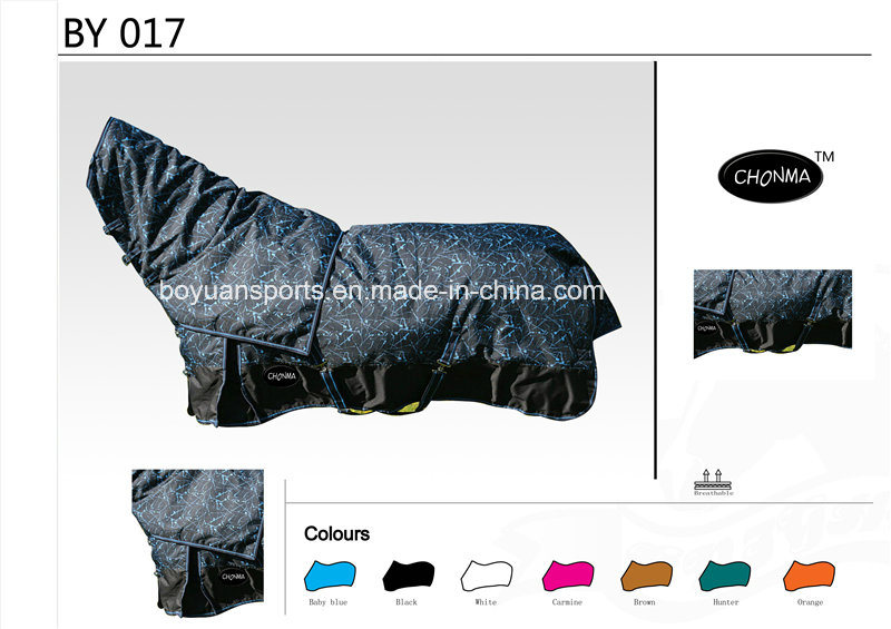 New Design Waterproof and Breathable Combo Horse Rugs with Various Size and Color