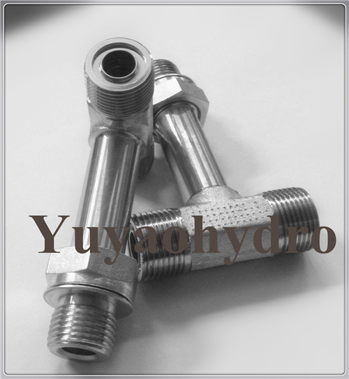 Tee Fittings Forged Fittings Orfs Orfs Adjustable Nut