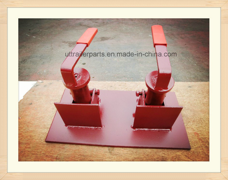 Single Type Container Revolving Twist Lock Truck Trailer Parts