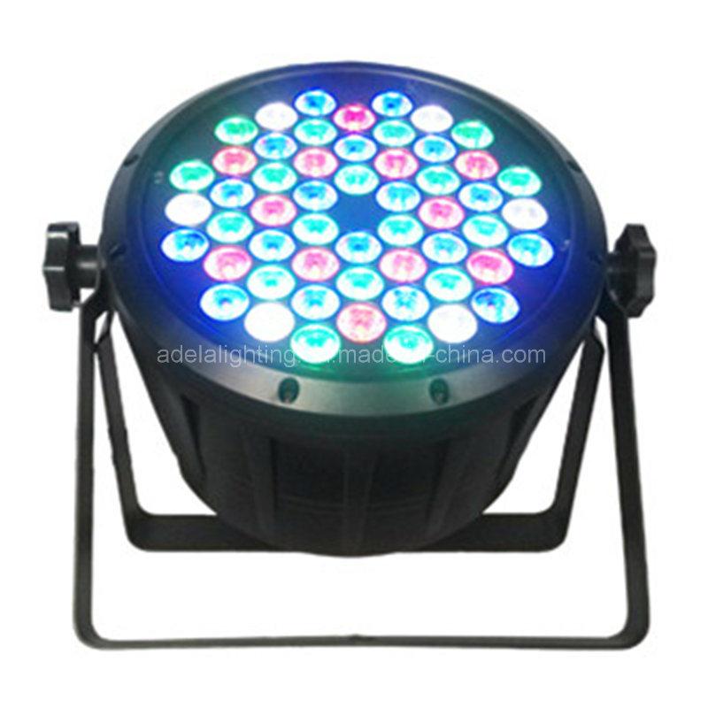 Plastic 54X3w RGBW LED PAR Light