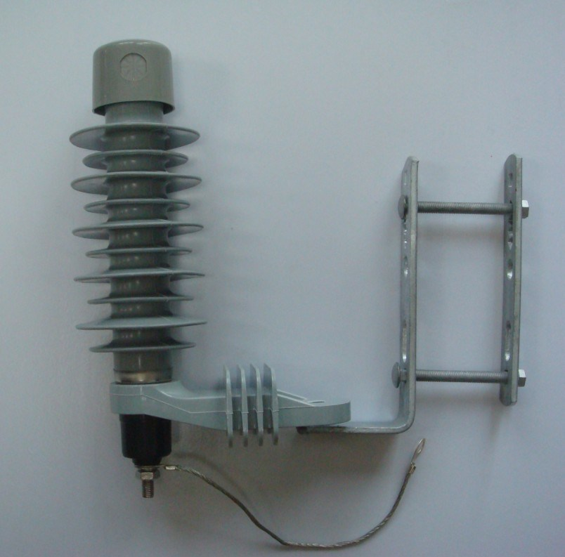 High voltage polymer metal oxide surge arrester hy10w hy5w