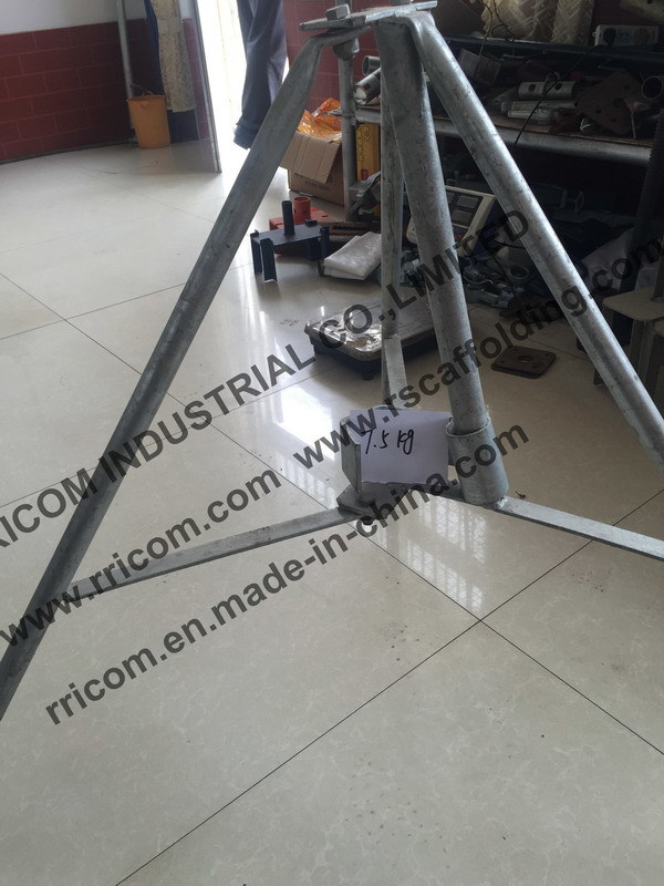Tubular Type Scaffolding Tripod Used Forl Shoring Props