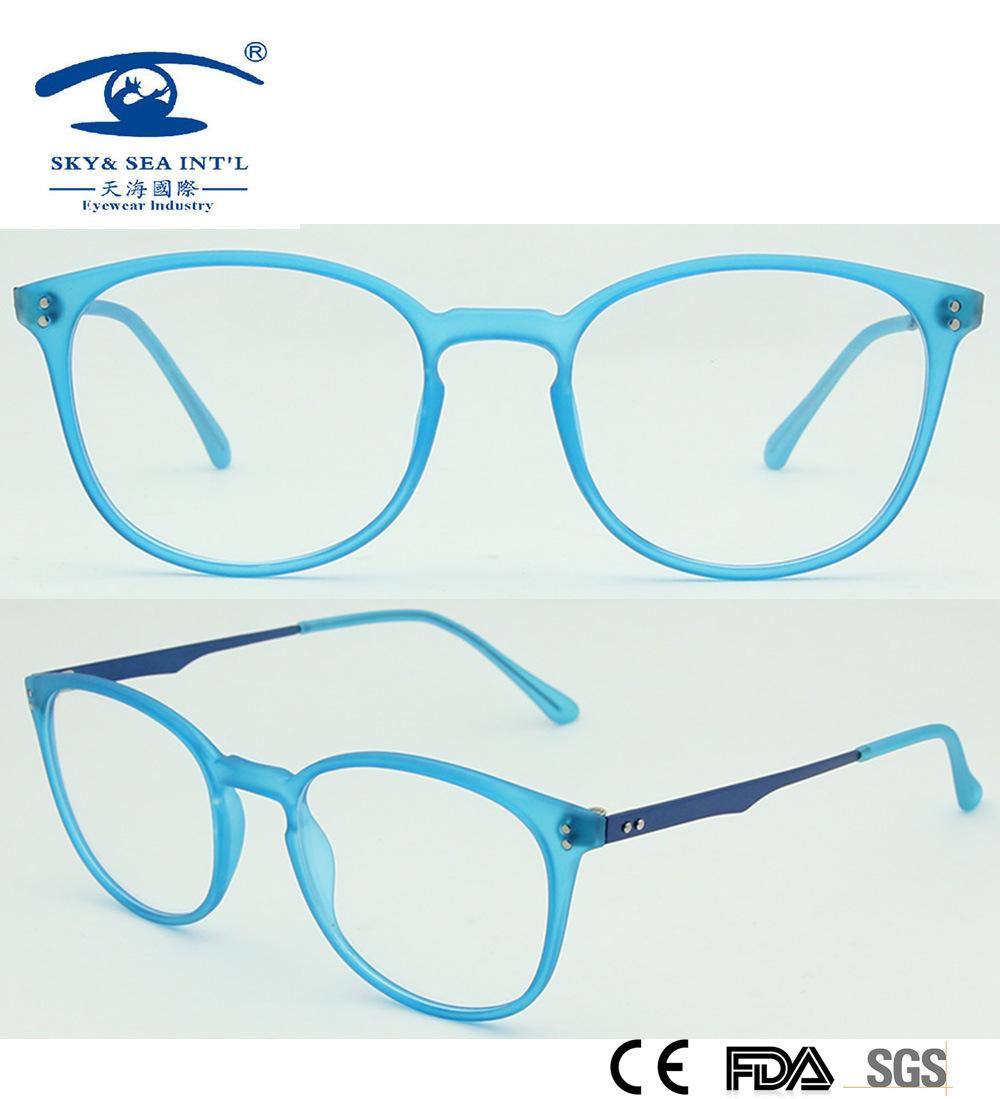 latest eyeglass frames 2015  China Transparent Blue 2015 New Design Tr90 Round Eyeglass Frames ...